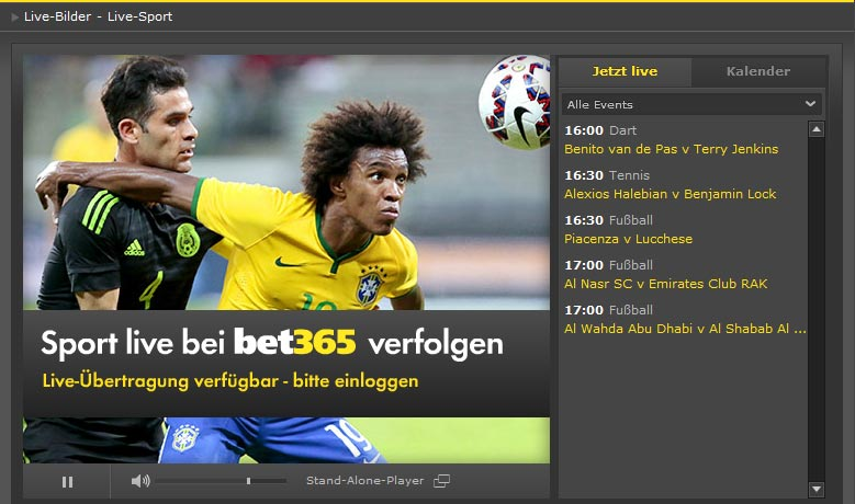 Bet365 Live Streams